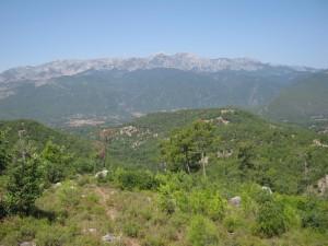 Горы Турция, Сиде