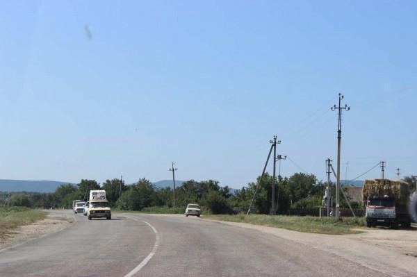 Крым, по-дороге в Коктебель